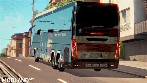 usa skin  mascarello roma bus mod  american truck simulator ats