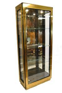Black Display Cabinet Furniture Modern Black Lacquer And Glass Curio Display Cabinet By
