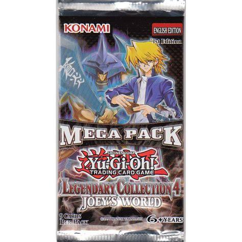 yu gi oh legendary 4 joey s world mega pack booster pack