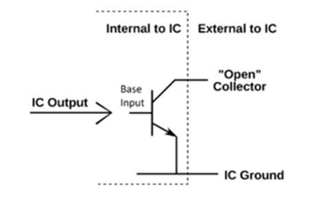 transistor npn open collector open collector