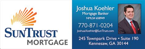christians in business suntrust mortgage joshua