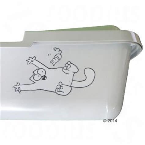 cassette igieniche per gatti cassetta igienica con bordo simon s cat zooplus