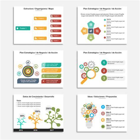 plantilla con diagrama circular de procesos para powerpoint gratis