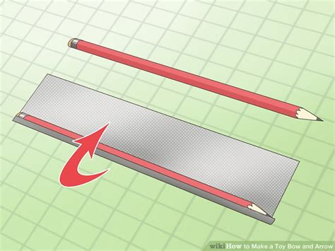 How To Make A Paper Arrow And Bow - how to make a bow and arrow with pictures wikihow
