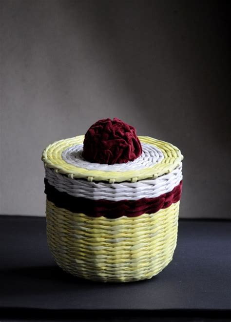 Paper Baskets - 17 best images about paper wicker on beautiful