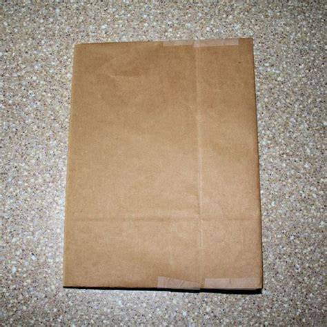 How To Make Paper Bag Book Covers - how to make a paper bag book cover