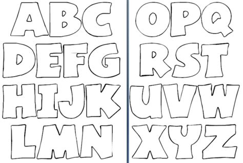 moldes de letras del abecedario para imprimir imagui abecedario moldes letra por letra imagui