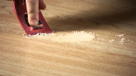 how to clean scented candle wax off laminate flooring working on flooring youtube
