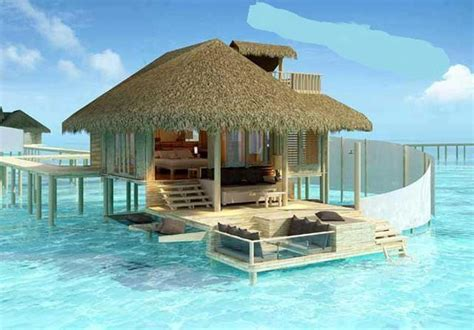 Tiki Huts In Water Hut On The Water Vision Board