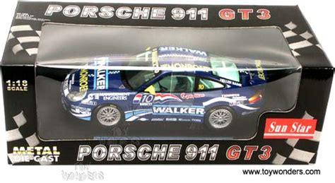 Diecast Sunstar 1 18 1291 Porsche 911 Gt3 Teldafax No 25 1998 porsche 911 gt3 walker by sun 1 18 scale diecast