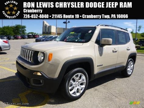 jeep renegade colors 2015 mojave sand jeep renegade latitude 4x4 106026541