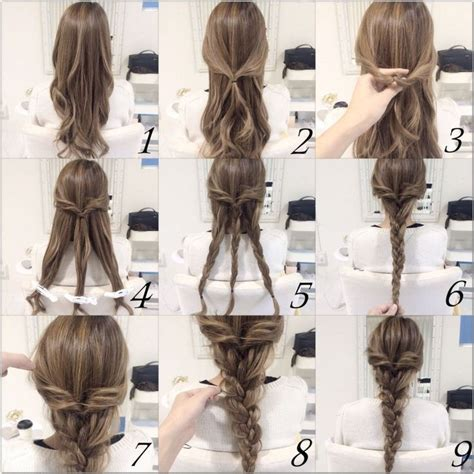 cool braided hairstyles step by step 10 quick and easy hairstyles step by step newswire talk