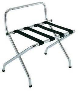 luggage rack chrome for guest bedroom for the home