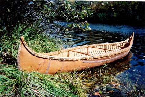 canoes made in ontario the birchbark canoe a sustainable design classic a j