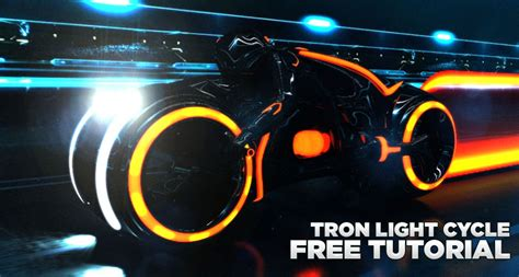 template after effects tron legacy free build your own tron light cycle 171 cinema 4d tutorials