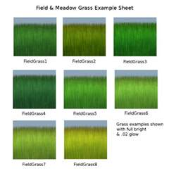 what color is the grass trowix new grass texture all