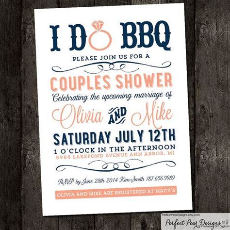 in july wedding shower invitations 85 best bbq couples wedding shower images on