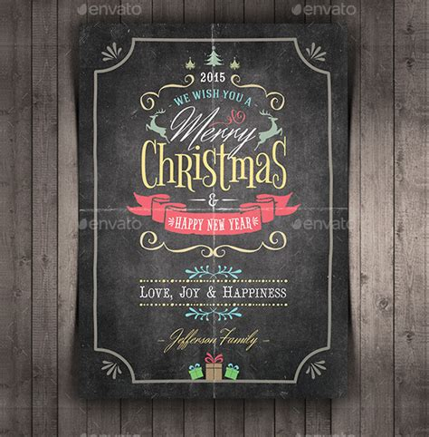 chalkboard card templates 31 greeting card templates free premium