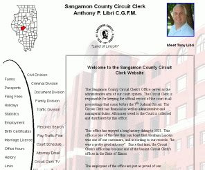 Sangamon County Circuit Clerk Search Information Sangamoncountycircuitclerk Org Sangamon County Circuit Clerk Home Page