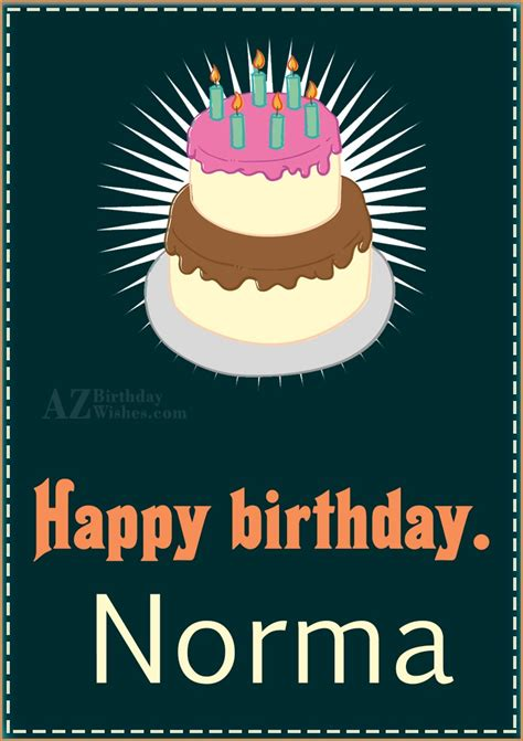 happy birthday norma