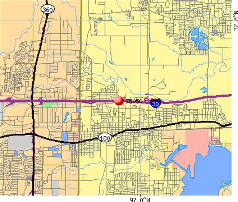 zip code map grand prairie tx grand prairie tx zip code map zip code map