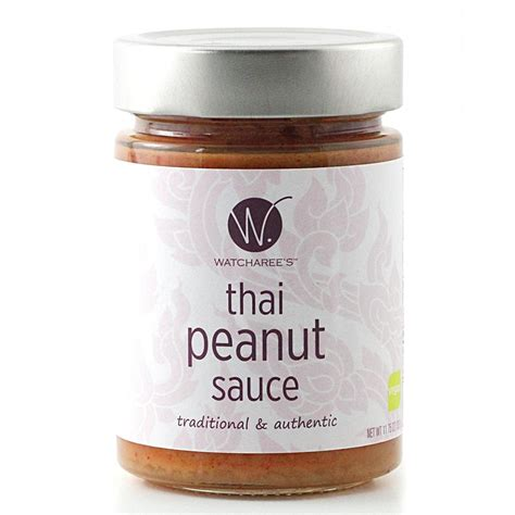 thai peanut sauce by watcharee s musely