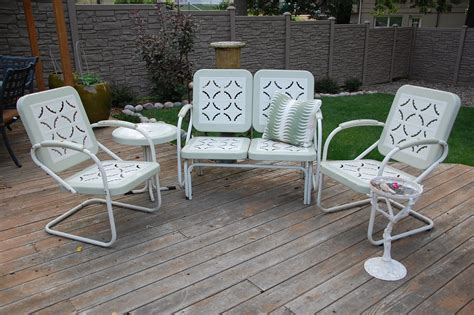 Patio Furniture Metal Sets Metal Outdoor Furniture