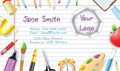 babysitting business cards templates free babysitting and day care business cards babyshower designs