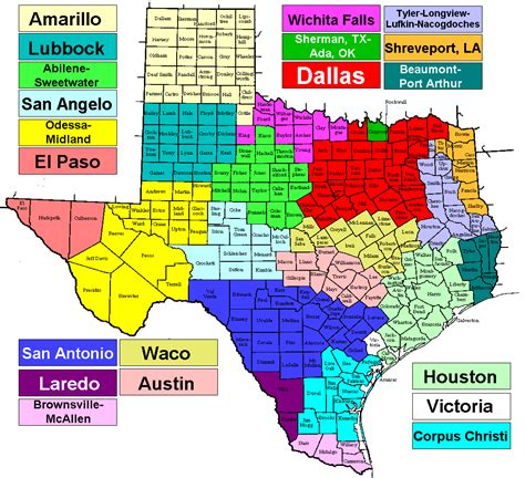 texas dma map ekb dish network channels at 119