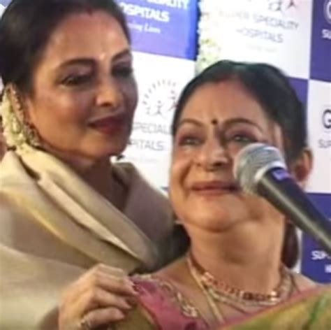 rekha video song must watch when rekha sang a tamil song at her sister s
