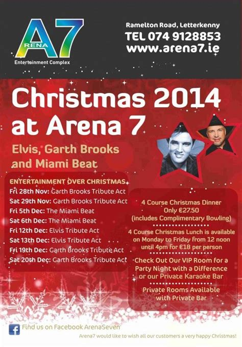 christmas events arena 7
