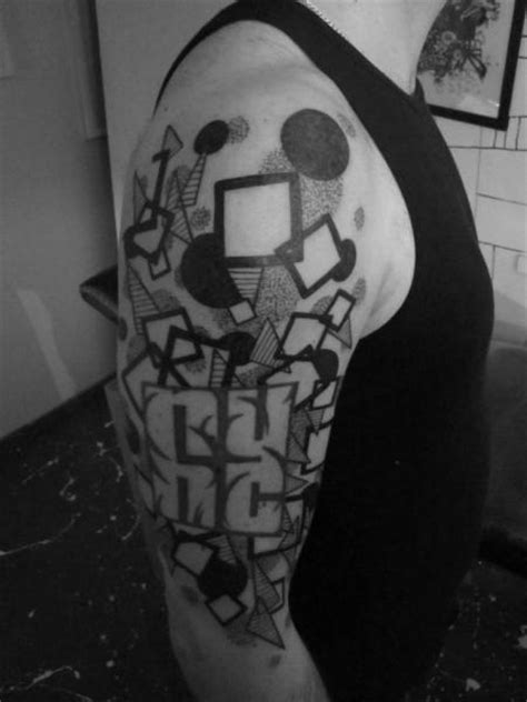 tattoo shoulder dotwork shoulder dotwork geometric tattoo by kostek stekkos