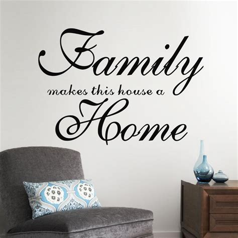 Home Decor Distributors U S A by Aliexpress Buy Home Garden Family Wall Quote