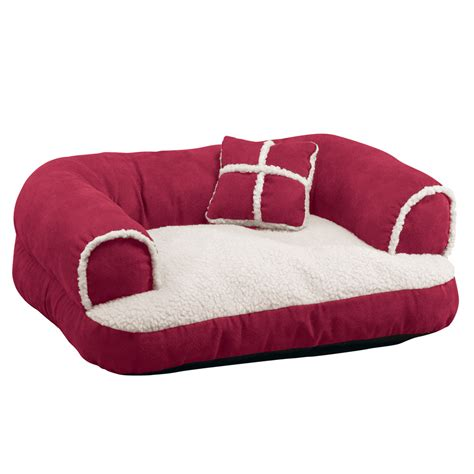 comfy bed pillows comfy pet bed couch with pillow by collections etc ebay