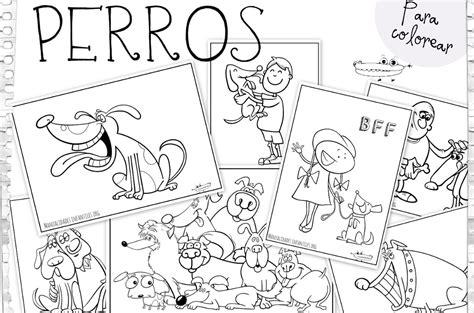 dibujos de perros para colorear manualidades infantiles dibujos de perros para colorear manualidades infantiles