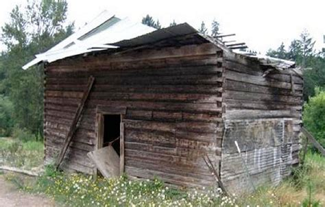 Restored Log Cabins by 216 Year Log Cabin Built By Russian Fur Traders Being