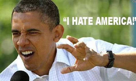 UPDATE: Barrack Obama is still an idiot! Blames the rise ... Hate Americans