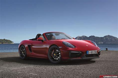 Porsche Boxster 2014 by Official 2014 Porsche Boxster Gts And Cayman Gts Gtspirit