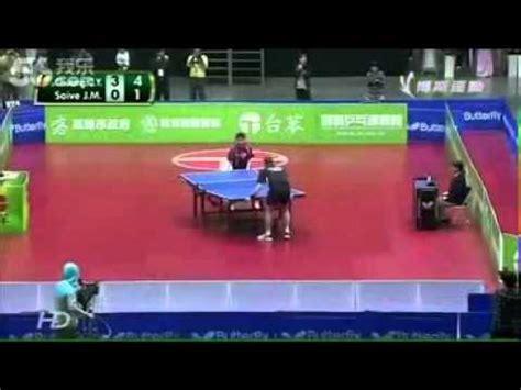 Tenis Meja Yang Bagus pertandingan tenis meja paling lucu dan keren