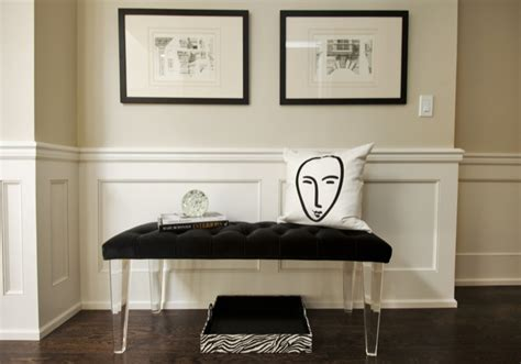 decorating with benches white bench design decor photos pictures ideas