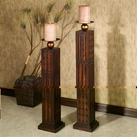 floor and home decor antique floor candle holder pro home decor floor candle