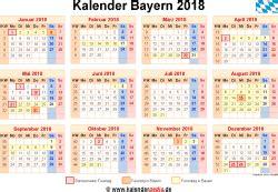 kalender  bayern ferien feiertage word vorlagen
