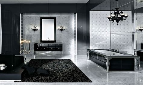 black white and silver bathroom ideas 71 cool black and white bathroom design ideas digsdigs