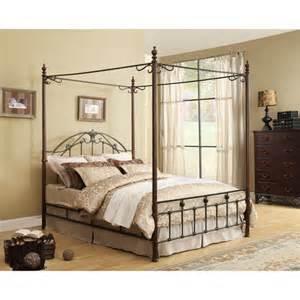 Walmart Canopy Bedroom Furniture Adison Iii Poster Canopy Bed Walmart