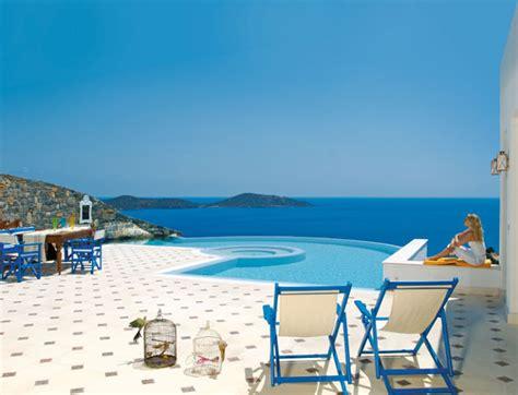 maximum comfort pool and spa luxury life design elounda gulf greece