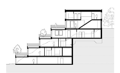 Plan For Houses gallery of terrace house pavel hnilicka architekti 19