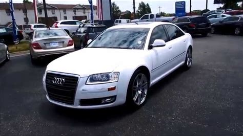audi a8l 4 2 2009 audi a8l 4 2 quattro walkaround start up tour and