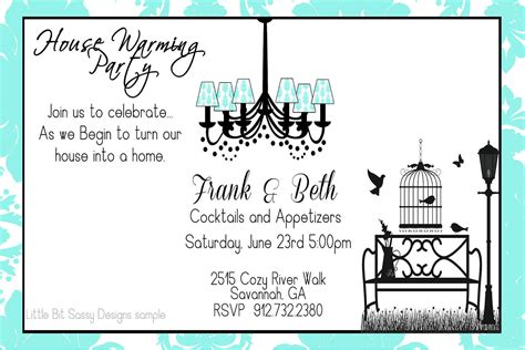housewarming party invitations template best template