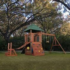 swing set bridge backyard on pinterest swing sets swings and wooden