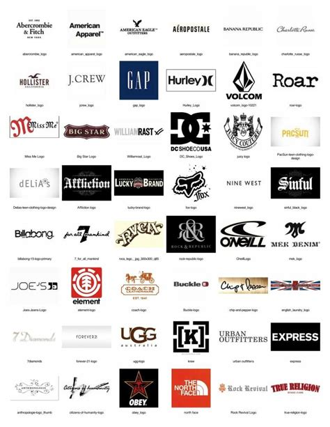 the best brands of clothes 90s clothing and apparel brand names studio design